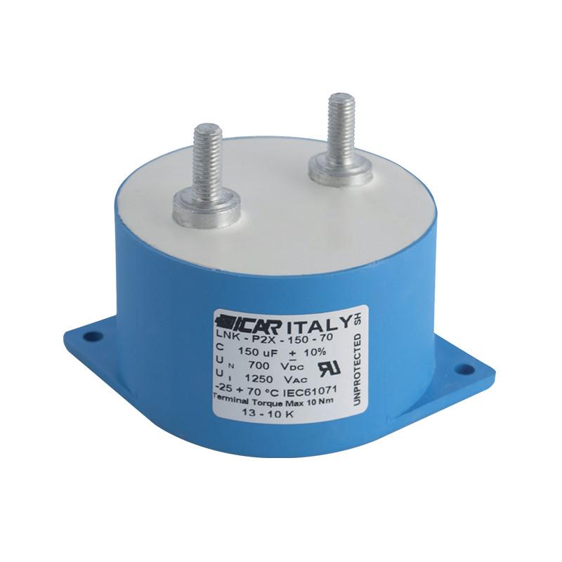 DC galios kondensatoriai LNK-P2X serijos