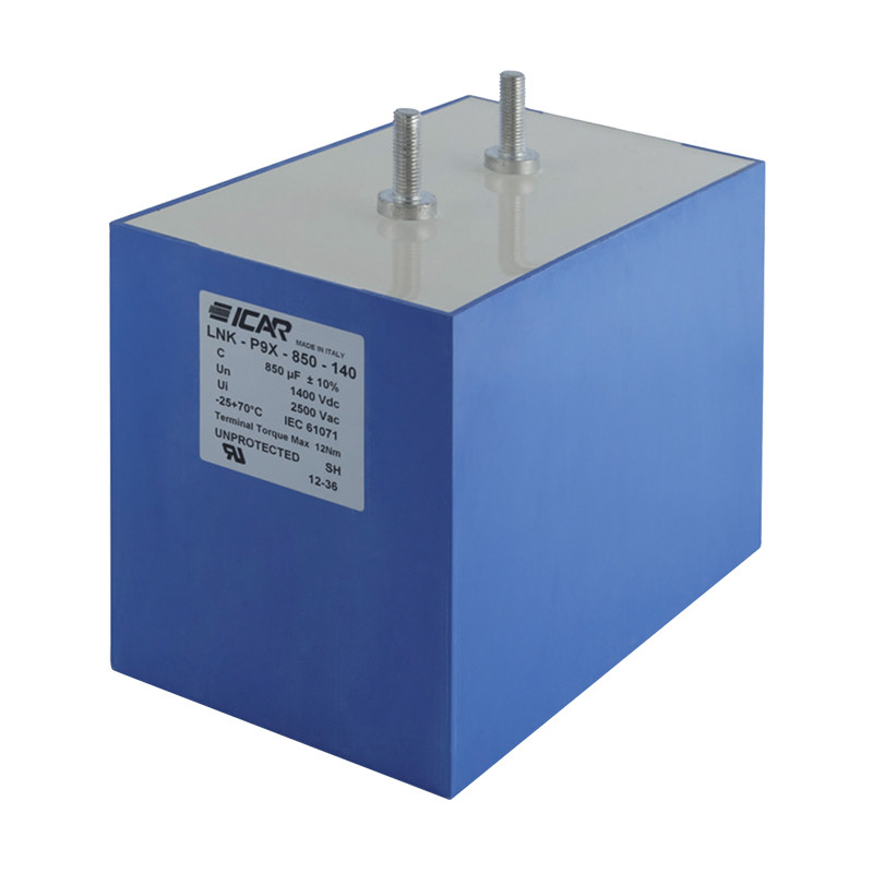 LNK-P9X serijos DC galios kondensatoriai