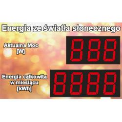 Energy from sunlight