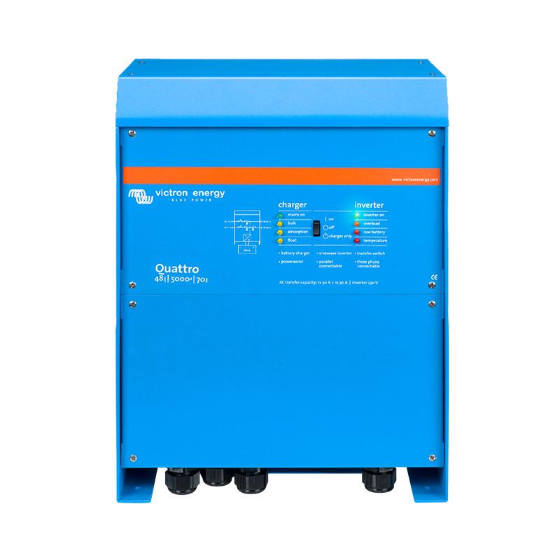 Quattro inverter / charger