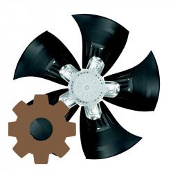 Specially designed fan DC ebmpapst