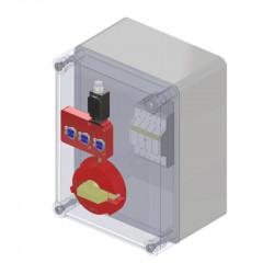 Wyłącznik IVC (skrzynka wyłącznikoiwa od 1 do 3 wejść na klucz