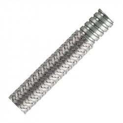 FB - Metallic Braided Conduits Galvanised steel helically wound flexible steel conduit with Galvanised steel overbraid Peszel FB