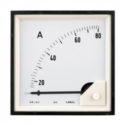 Ammeters in sizes 72x72 and 96x96