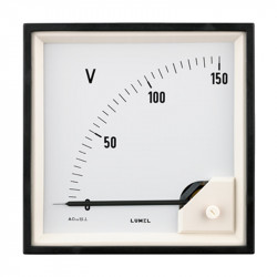 Voltmeters in sizes 96x96 and 72x72