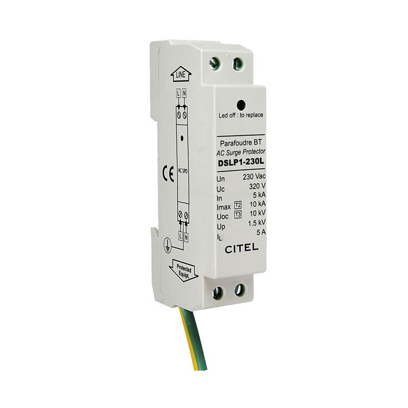 Įleidžiami sustojimai su 2 + 3 kabeliais (C + D) DSLP1-230L