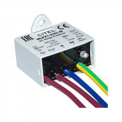 Įleidžiami sustojimai su 2 + 3 tipo kabeliais (C + D) MLPX1-230L-W