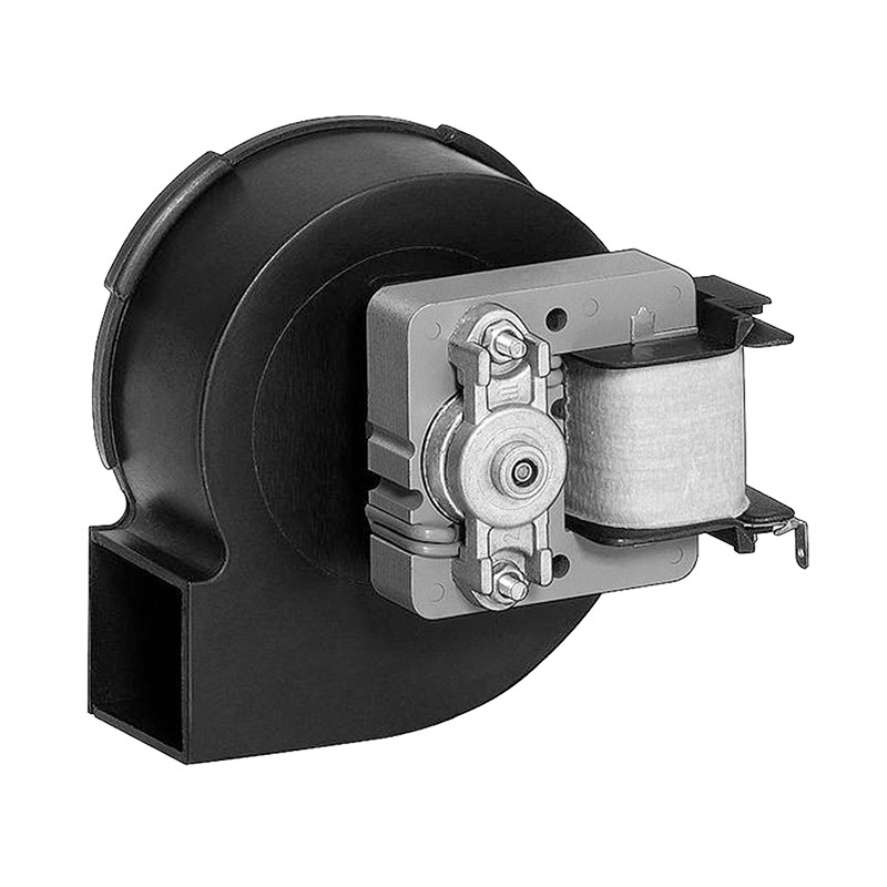 Radial blowers with AC motor