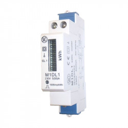 Single-phase energy meter M1DL1