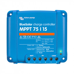 Regulatory ładowania Blue Solar MPPT 75/10/ 75/15 i 100/15