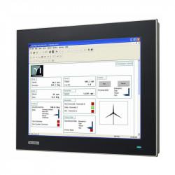 """FPM-7151T - Przemysłowy, płaski monitor 15"""" XGA TFT LCD z wejściem VGA oraz DP, IP66"""