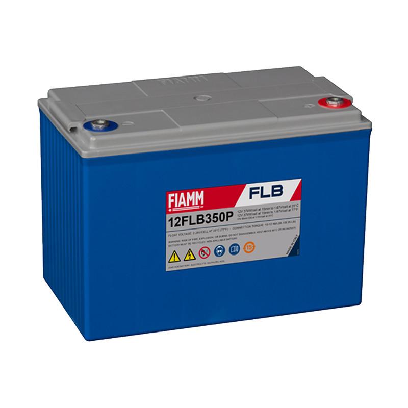Baterijos AGM FIAMM serija FLB priežiūra be priežiūros