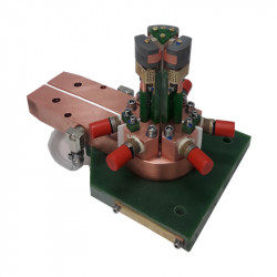 Inductor for hardening transmission system components