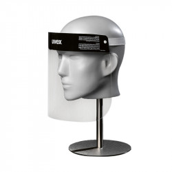 Protective face shield for single use