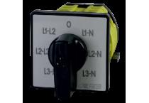 Przełączniki wyboru faz  L48E…-L52E…