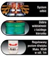 lme 302fbw ryg wieża sygnalizacyjna serii lme patlite dacpol dimensions mm