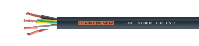 titanex premium h07rn f 450 750v do 0 6 1kv dacpol. Black Bedroom Furniture Sets. Home Design Ideas