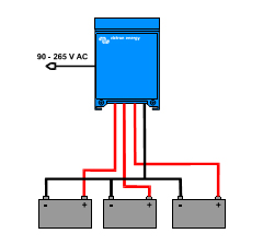 Centaur Battery Charger 24 30 application example
