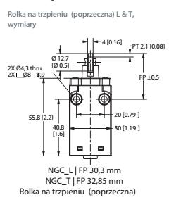 Wyłączniki krańcówe serii NG