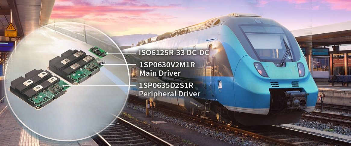 Compact-sized SCALE-2 Gate Driver provides Quality and Stability in Railway Applications