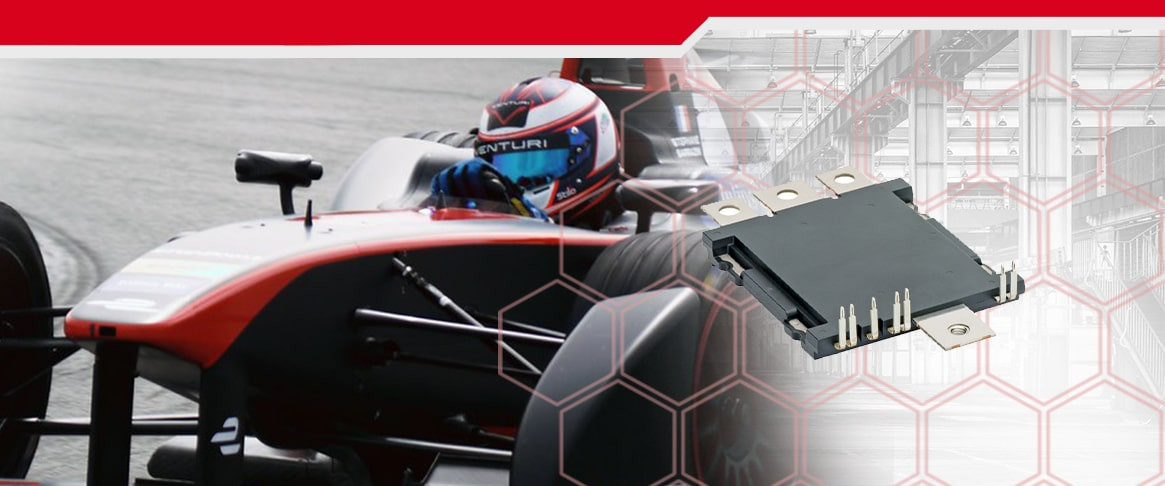 High power density SiC power module for Formula E: requirement, design considerations and the test results