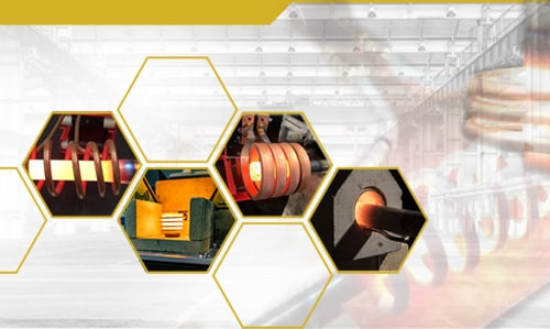 The use of induction heating in the manufacture of industrial equipment