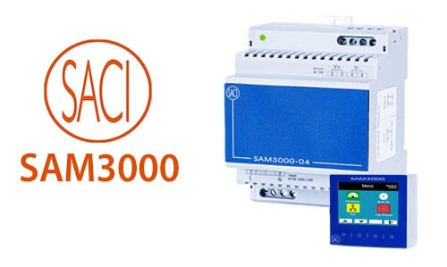The new line of SAM3000 network monitoring devices